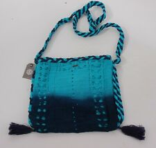 2014 NWT WOMENS ELEMENT SAMAR PURSE $46 navy blue aqua shoulder bag