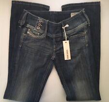 Diesel Cherock Regular Slim Bootcut Wash OR463 Womens 26 x 30 $170 New jlr