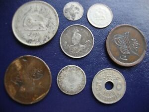 Middle Eastern coin group (8)