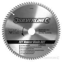 Veneer Circular Saw Blade 80T 250mm TCT Cutting Sawing Wood Chipboard Concrete