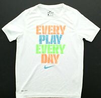 Nike Youth Big Boys Dri-Fit Graphic Print Every Play Every Day Tee T Shirt
