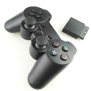 WIRELESS CONTROLLER FOR THE PLAYSTATION 2 DUAL VIBRATE 2.4GHz BRAND NEW PS2