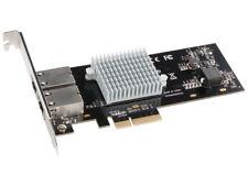 Sonnet Presto 10GBASE-T Ethernet 2-Port PCIe Card