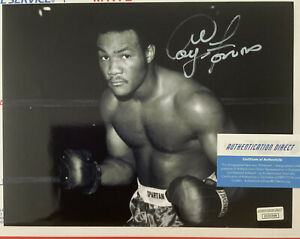 George Foreman Autographed/Signed Boxing 8x10 Vintage Photo. W/COA