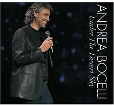 ANDREA BOCELLI Under the Desert Sky CD/DVD Set 2006 Decca NTSC video NEW-SEALED!