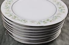 Noritake Savannah Bread Cake Plates set of 8 Beautiful Condition CPN8