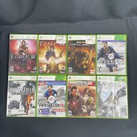 XBOX 360 Game Lot Of 8!! Tested & Played!!