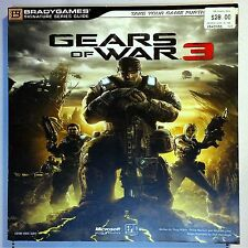 A8 Gears Of War GOW 3 Official Bradygames Game Strategy Guide Xbox 360