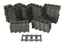 100 Lego 9V Eisenbahn TRAIN 4515 Gerade Schienen STRAIGHT TRACKS