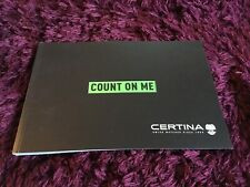 Certina Watch Catalogue 2018 / 2019 - Brand New Uk Issue
