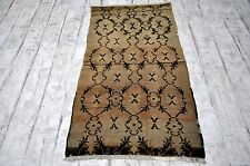 Free Shipping Oushak Vintage Rug 3. x 5.7Home Deco Floor Rug Decorative Area Rug