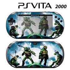 Vinyl Decal Skin Sticker for Sony PS Vita Slim 2000 Ninja Turtles TMNT 2