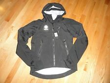 Ralph Lauren RLX Men's Black Waterproof Jacket Rain Jacket Hooded Small NWT $395