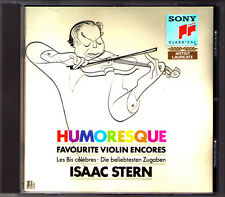 Isaac STERN: HUMORESQUE Rimsky-Korsakov Flight of the Bumble-Bee Liebesleid CD