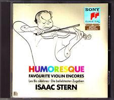 Isaac STERN: HUMORESQUE Rimsky-Korsakov Flight of the Bumble-Bee Liebesleid CD