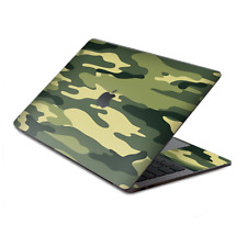 "Skin Decal Wrap for MacBook Pro 13"" Retina Touch  Green Camo original Camouflage"