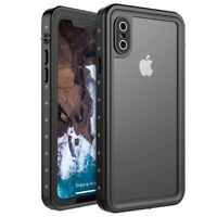 For iPhone X/Xs 360° Waterproof Dustproof Shockproof Phone Case Cover Protective