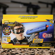 NEW JT Splatmaster Z100 Beginner Spring Paintball Pistol Gun Marker - Blue
