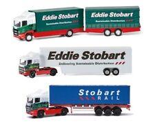 Corgi Toys Eddie Stobart Model Truck Lorry Bundle Gift Set (3 Models) New Boxed