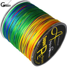 Braided Fishing Line 300m 40lb 8 strands Extreme Strong PE Braid Line Multi