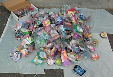 Huge McDonalds Happy Meal Toys Lot All Sealed 150+ Pieces, Vintage, Disney, 90s