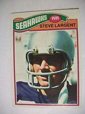 STEVE LARGENT 1977 Topps #177 RC Seahawks