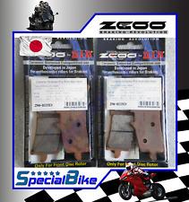 SUZUKI GSX R 1000 2012 > 2016 PASTIGLIE FRENO ZCOO RACING 2 COPPIE BRAKE PADS