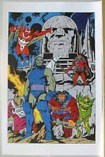 Super Powers DARKSEID & MINIONS Pinup Poster KALIBAK DC