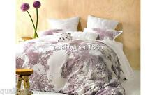 QUEEN MARIE CLAIRE Abbie Dusk Scattered Embroidery 100% COTTON Quilt Cover Set
