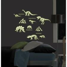 Dinosaur Glow-In-The-Dark Wall Art Peel & Stick Kit -- My Style MS0102 (New)