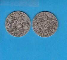 Gertbrolen Maroc   5 Dirhams (1/2Ryal)  1320 Berlin   Silver Coin of Morocco