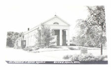 St Francis of Assisi Church Cates Mills OH 1950s Postcd