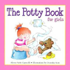 Potty Book for Girls, The - Hardcover By Alyssa Satin Capucilli - VERY GOOD