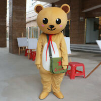 Bear Mascot Costume Cosplay Party Game Dress Outfit Advertising Halloween Adult