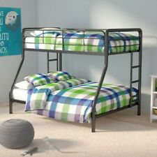 Twin Over Full Bunk Bed For Kids and Teens