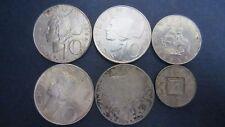 Lot Silber Österreich 4 x 10 Schilling, 5 Schilling, 1/2 Schilling 1925 (15)