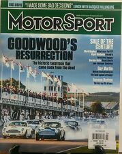 Motorsport Nov 2016 Goodwood's Resurrection Historic Racetrack FREE SHIPPING sb