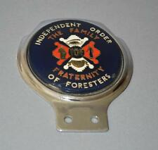 Old Metal Car Badge - Independent Order Of Foresters.