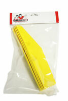 Set of 4 Yellow Pincab Pinball Machine Leg Protectors
