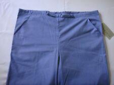 Peaches Uniforms Womens/Mens Blue Scrub Bottoms Medical Pants Small Drawstring