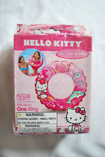 "3pk HELLO KITTY SWIM RING 20"" SANRIO TOY PARTY FAVORS INTEX GIRLS BIRTHDAY GIFTS"