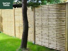 Contemporary Garden Screens / Modern Panels / Fence Panels, The Monaco 180x150