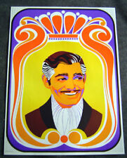 New listing Elaine Hanelock Vintage 1968 Hollywood Movie 2 Posters Will Rogers Clark Gable