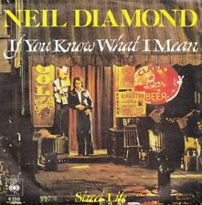 "Neil Diamond - If you know what i mean / Street Life *7"" Single* ( CBS )"