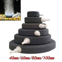 1/2Pcs Air Bubble Disk Stone Aquarium Aerator Fish Tank Pump Hydroponics Oxygen