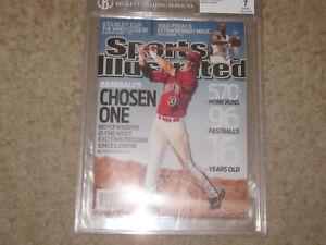 Sports Illustrated 2009 Philadelphia Phillies Bryce Harper Beckett Graded 7 NR/M