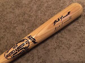 RICK FERRELL Auto Pro Stock Louisville Slugger F69 Baseball Bat Boston Red Sox