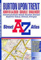 (Good)-A-Z Burton on Trent Street Atlas (Paperback)-Geographers' A-Z Map Company