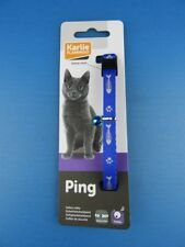 Karlie Katzenhalsband Halsband Katze Fishbone Neonfarbig blau