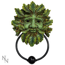 GREEN MAN DOOR KNOCKER Tree Spirit Pagan Wiccan by Nemesis Now - NEW